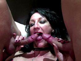 Lyna, cougar de 40ans prise en double anale ! | IllicoPorno