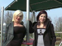 Concours de salopes entre lesbiennes ! | IllicoPorno