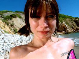 Anal sur la plage ! | IllicoPorno